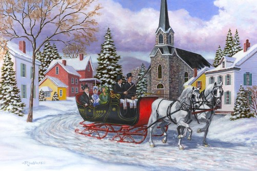 Currier and Ives Holiday image