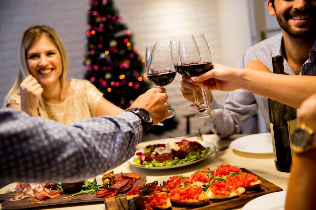 Millennials celebrating the holidays